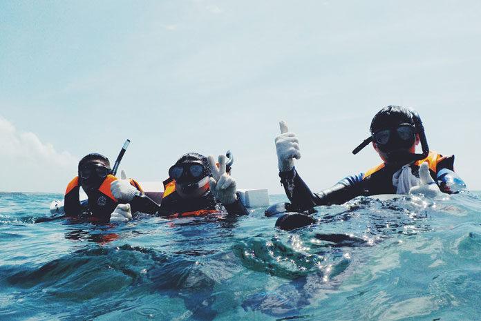 Sprzęt do nurkowania dla amatorów