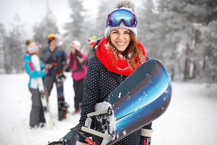 Snowboardowe kurtki damskie
